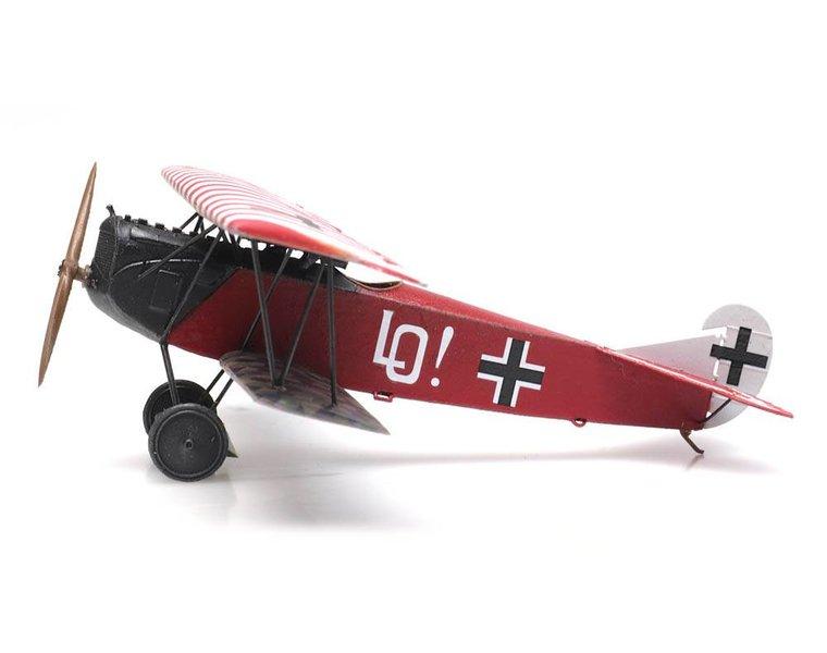 Fokker D.VII Jasta 4, Ernst Udet
