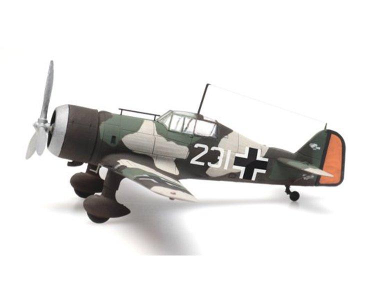 Fokker D.XXI 231 Beute