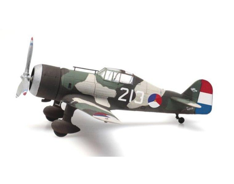 Fokker D.XXI 213 roundel 'rozetten'