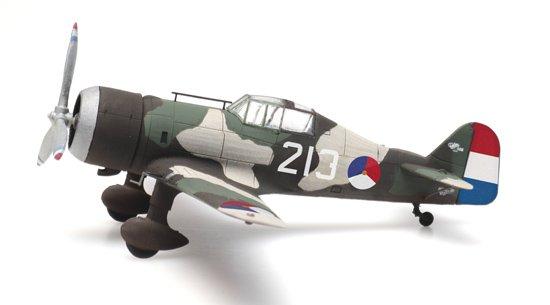 Fokker D.XXI 213 rozetten