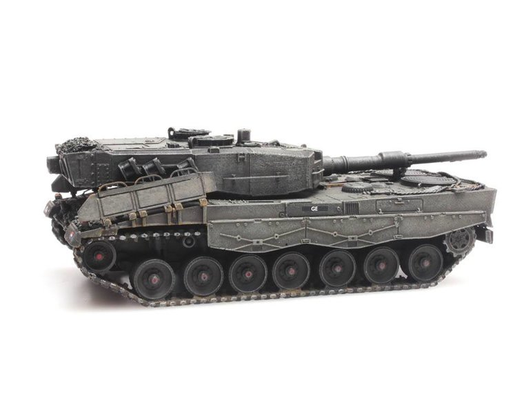 Leopard 2A4 treinlading