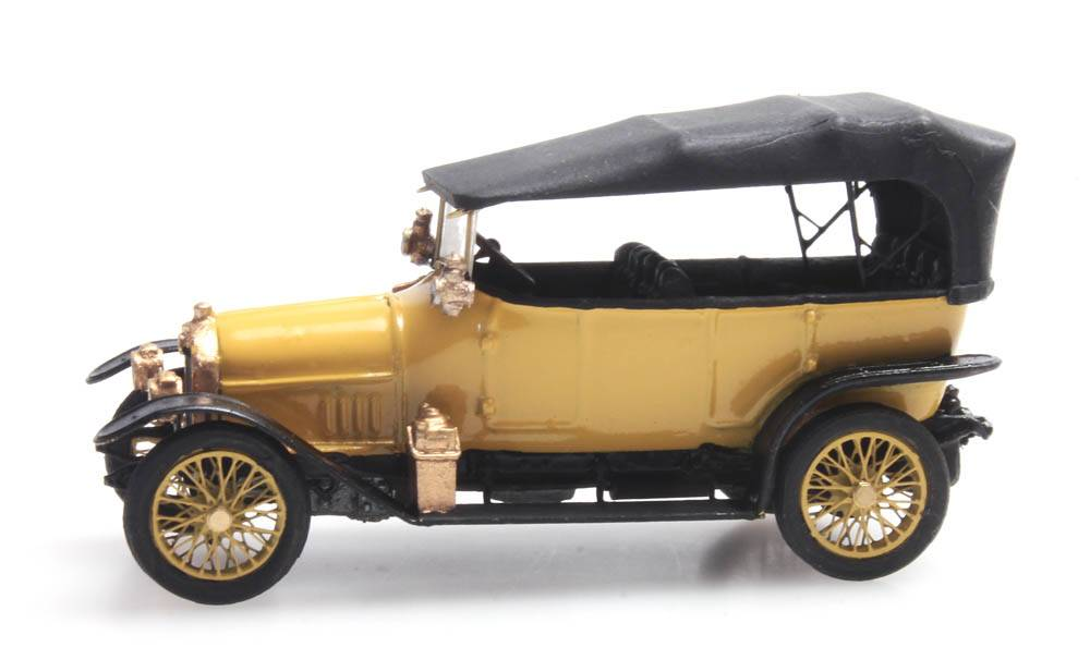Audi 10/28 civiel geel