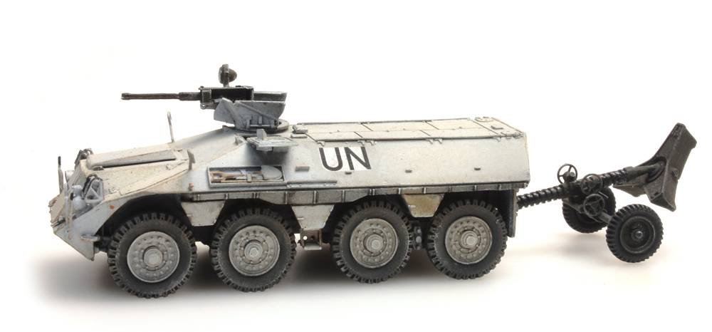 DAF YP-408 PWMR 120mm Mortar UNIFIL