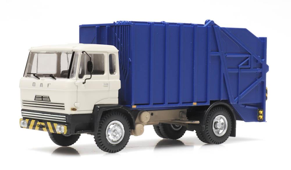 DAF kantelcabine 1970 vuilniswagen
