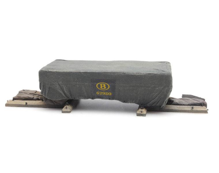 Lading: NMBS Transportkist met dekzeil