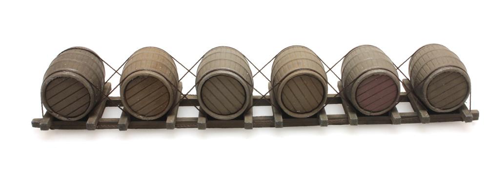 Lading houten vaten