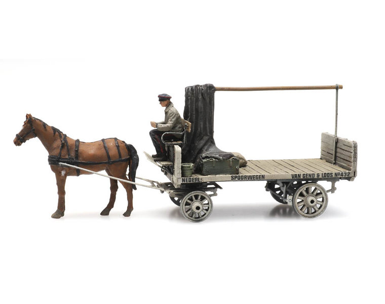 VG&L horse and wagon
