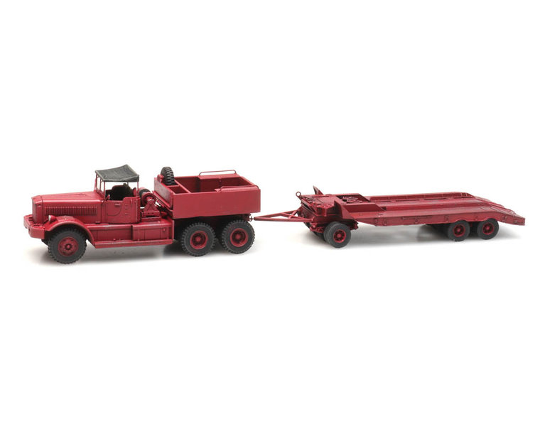 Diamond T Lkw mit Anhänger, Zivil