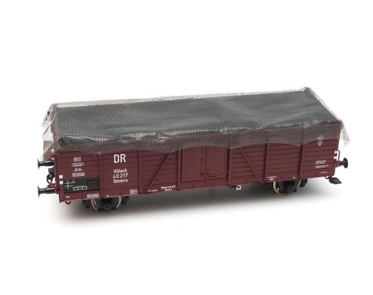 Abdecknetz für Eisenbahnwagen