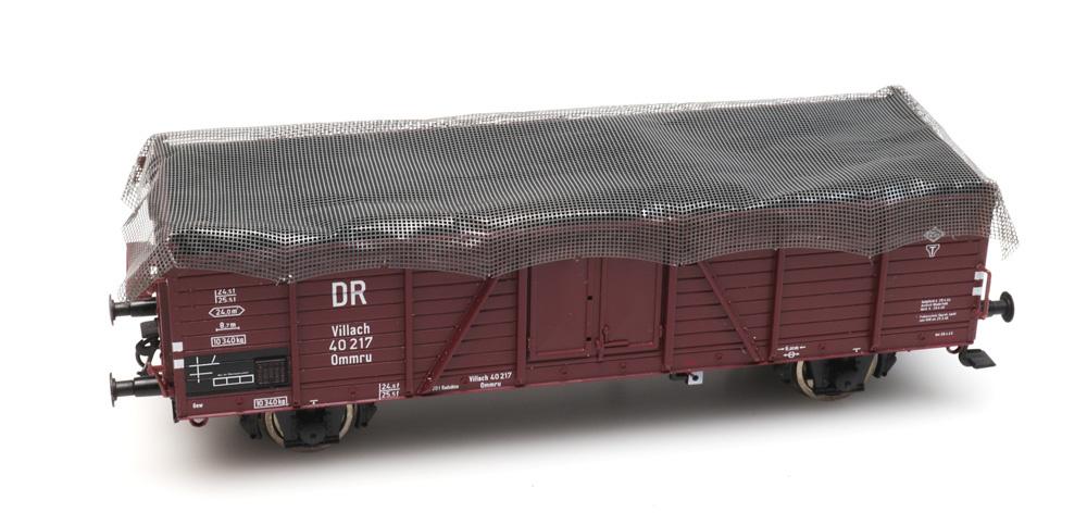 Ladingnet voor goederenwagens