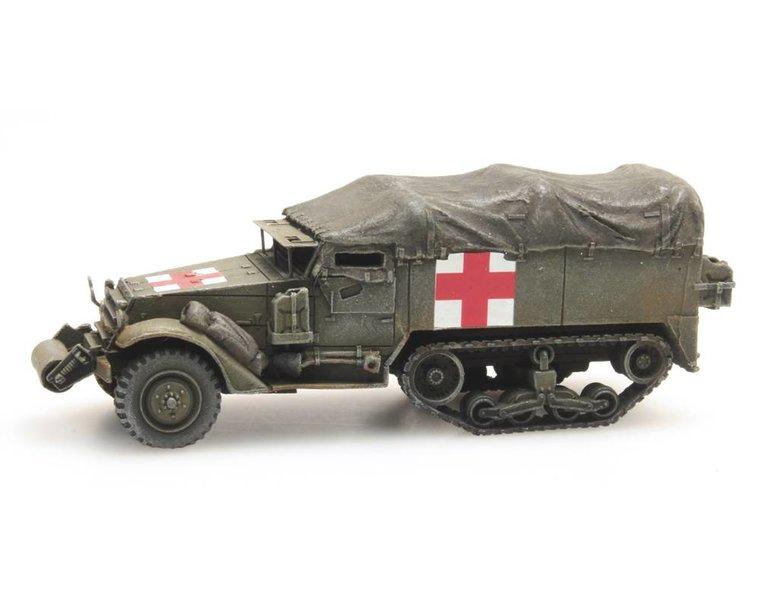 Halftrack M3A1 Ambulance