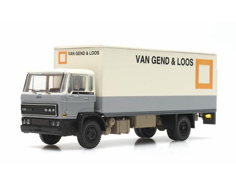 DAF tilt-cab 1982 box van vG&L