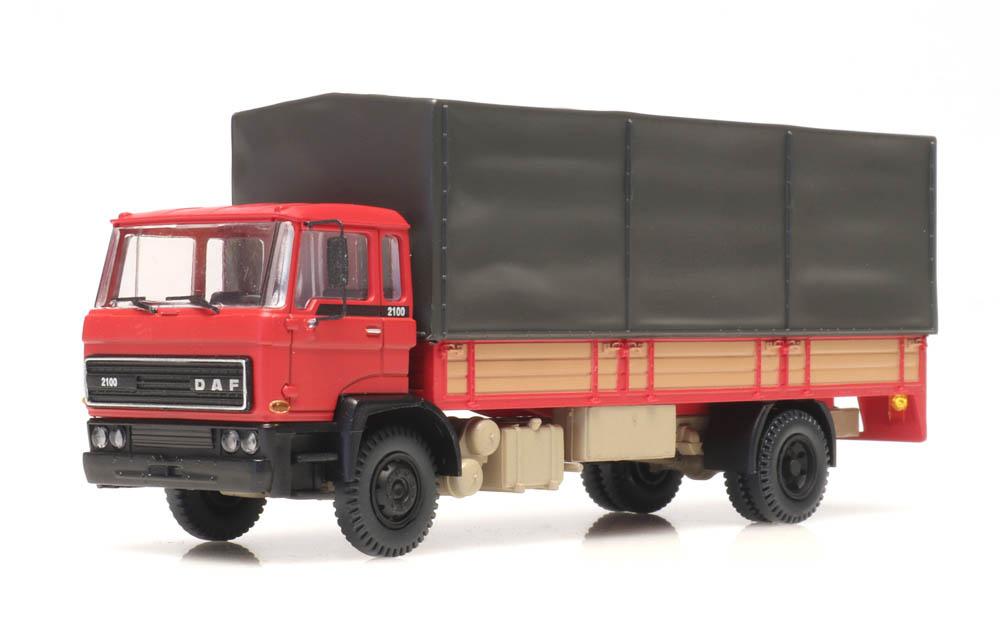 DAF Kipp-Fahrerhaus Pritschen Kab 1982 rot