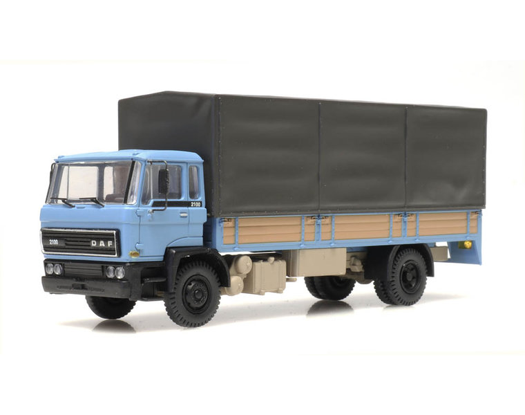 DAF Kipp-Fahrerhaus Pritschen Kab 1982 blau
