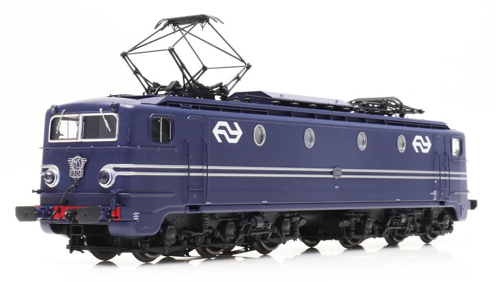 NS 1308, blauw, NS-logo, L-sein, DC, LokPilot, IV