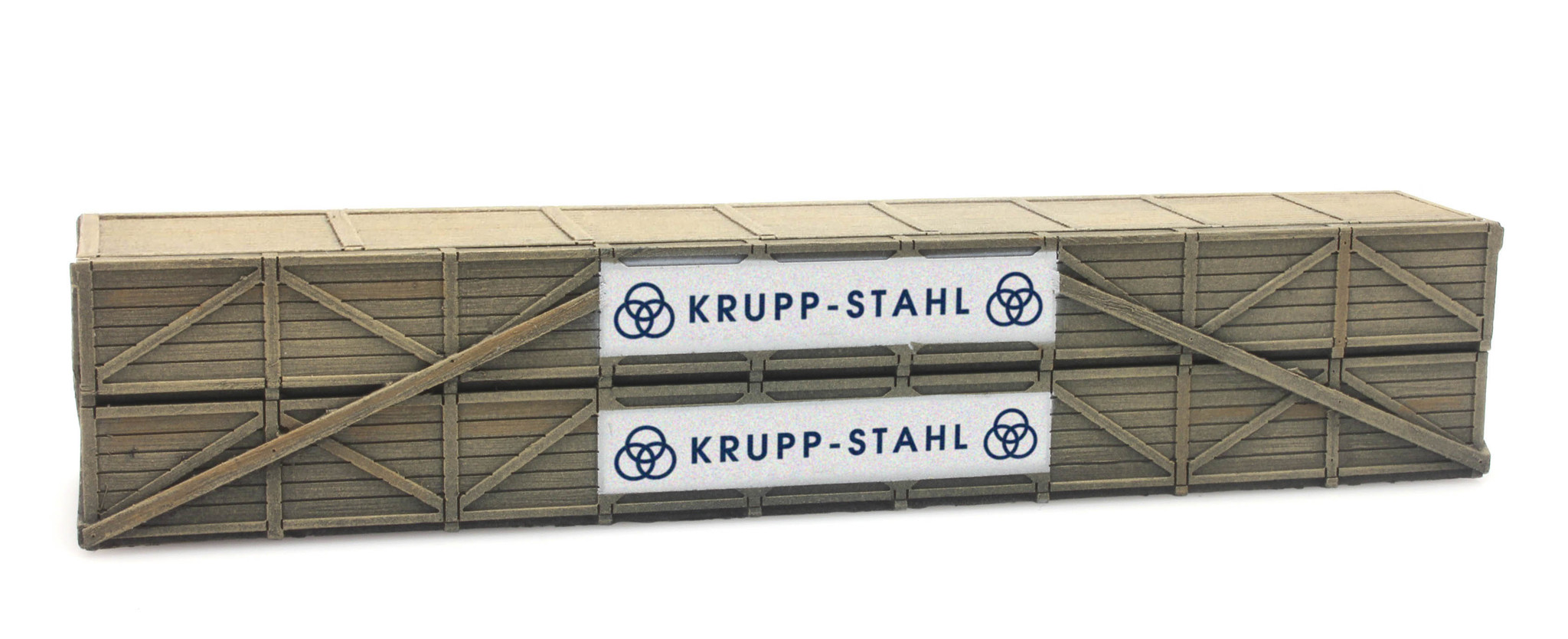 Cargo: Shipping crate: Krupp-Stahl