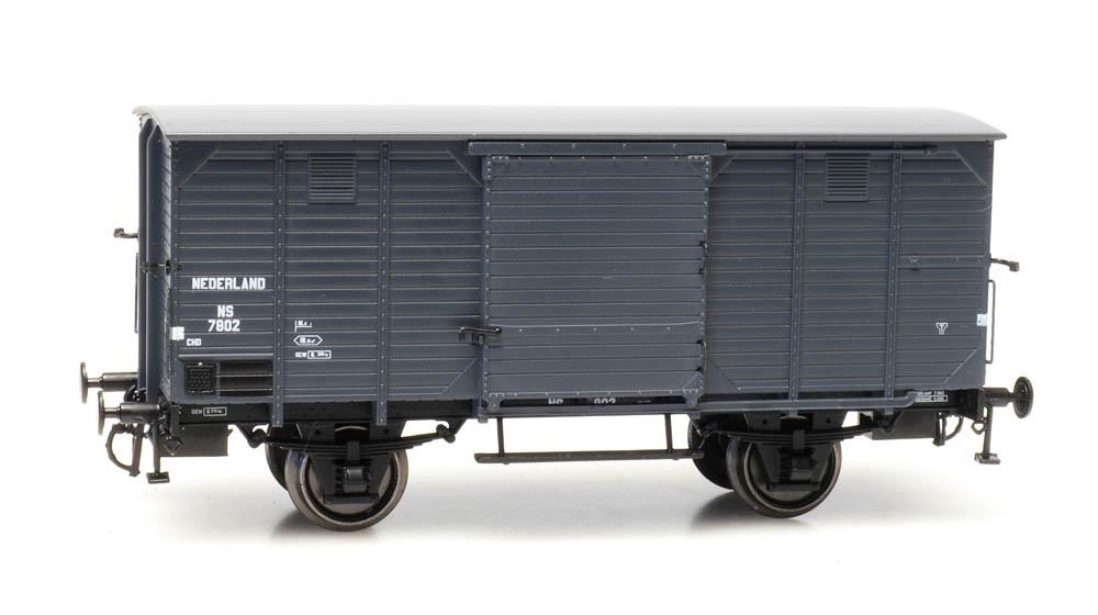 CHD 4m, no brakes, grey, NS 7802