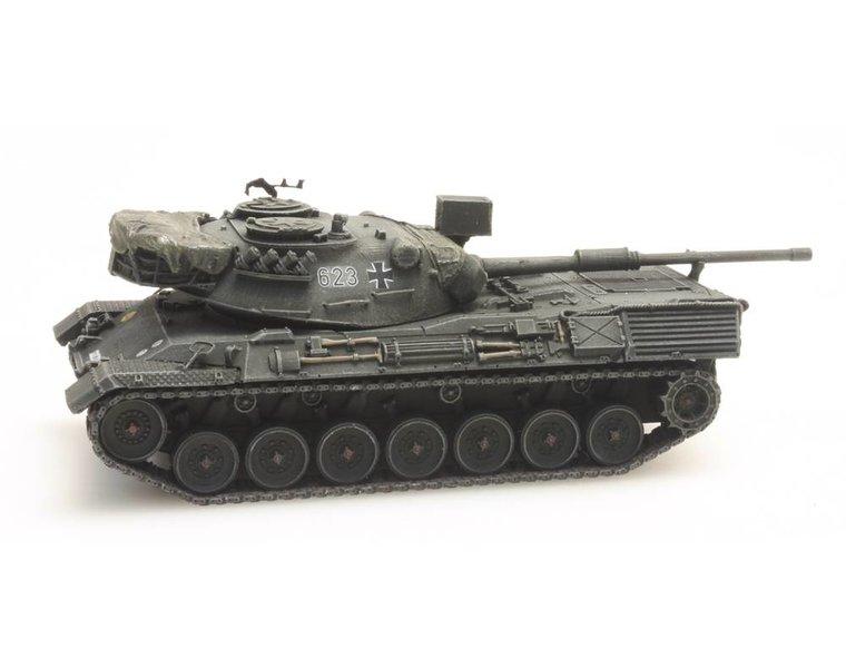 Leopard 1 Gelboliv treintransport