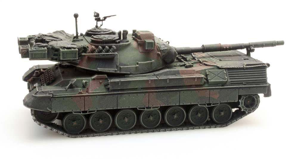 Leopard 1A5 voor treintransport Belgisch leger