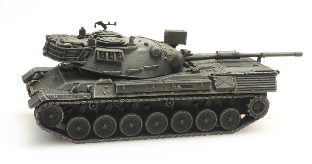 Leopard 1 for rail transport Koninklijke Landmacht