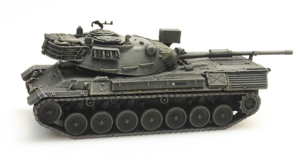 Leopard 1 voor treintransport Koninklijke Landmacht