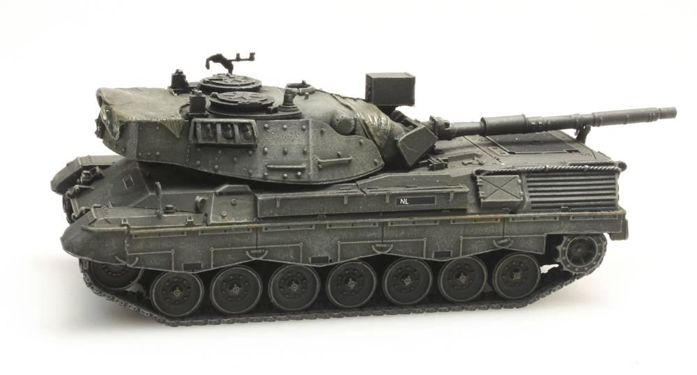 Leopard 1V voor treintransport Koninklijke Landmacht