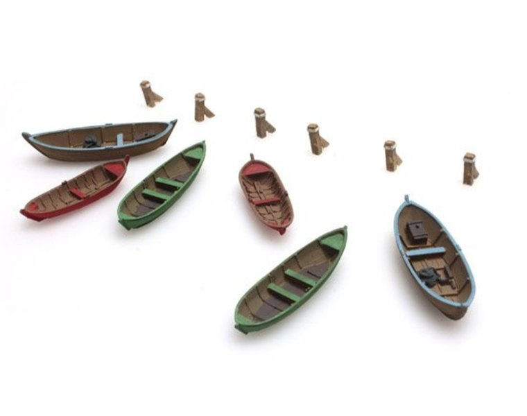 Rowing boats (6x)