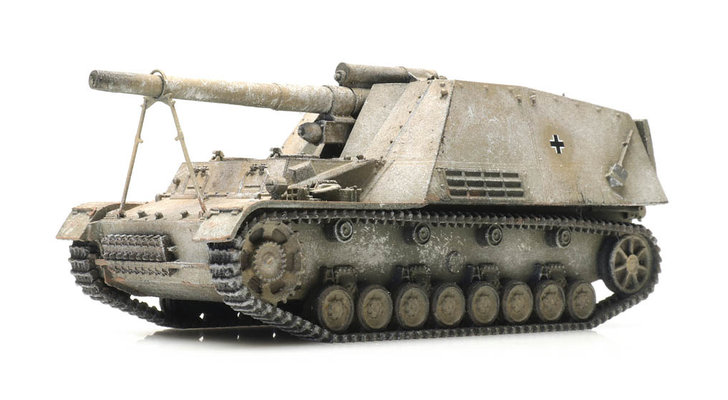 Self-propelled artillery