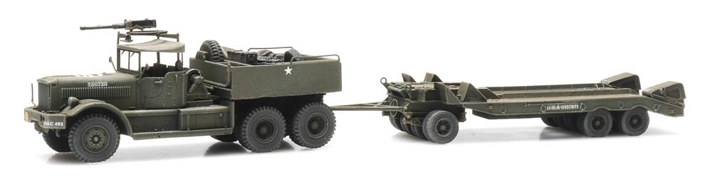 M19 Diamond T with trailer US Army