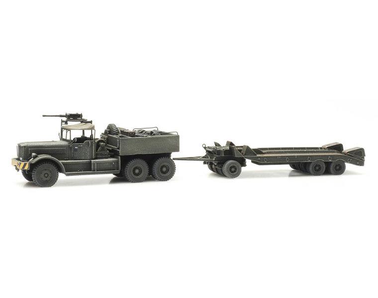 M19 Diamond T met aanhanger