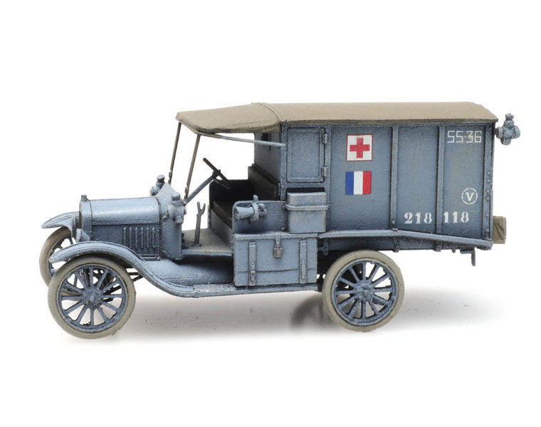 T-Ford Ambulance Armée de terre