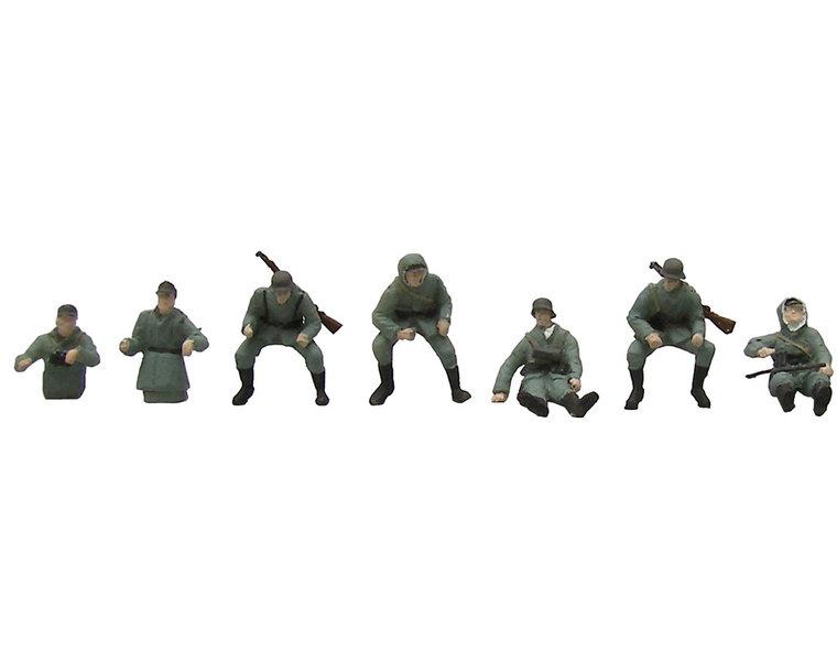 Panzergrenadiere Aufsitzend Herbsttarnung