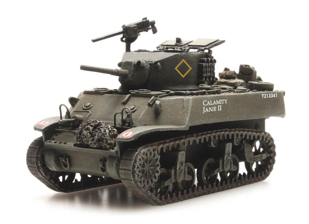 French M3A3 Stuart Light Tank, Libération de Paris