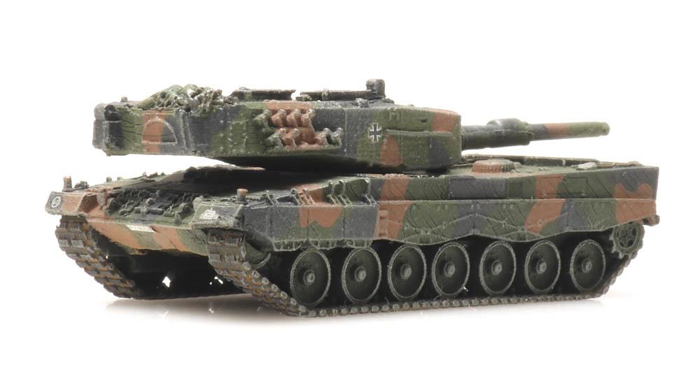 Bundeswehr Leopard 2A2 Eisenbahntransport