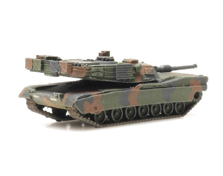 M1A2 Abrams camo train load