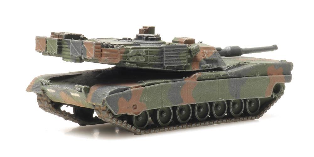 US Army M1A2 Abrams camo train load