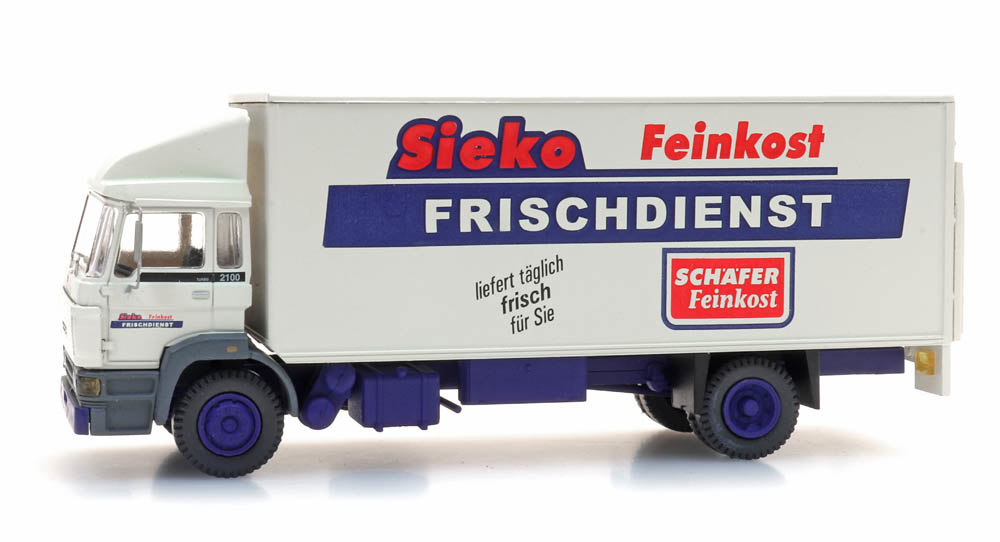 """DAF kantelcabine """"Sieko Frischdienst"""""""