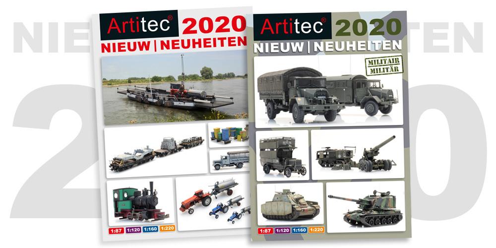 Onze nieuwe producten voor 2020
