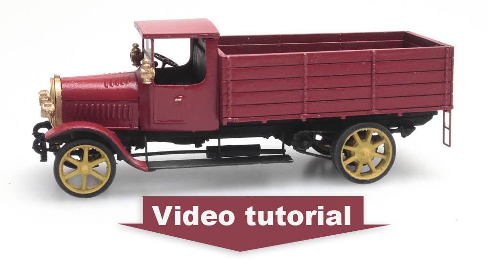 Opel 4t vrachtwagen, 1914