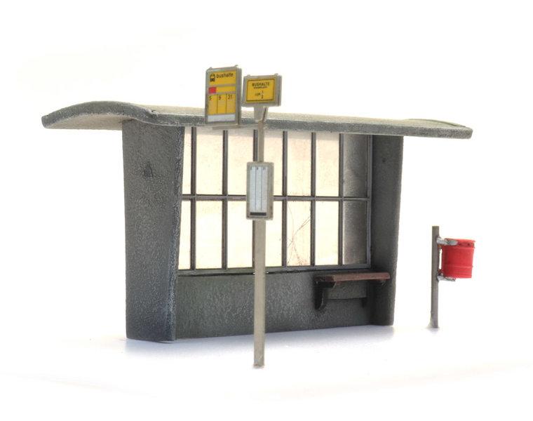 Bushaltestelle ab den 60er Jahren