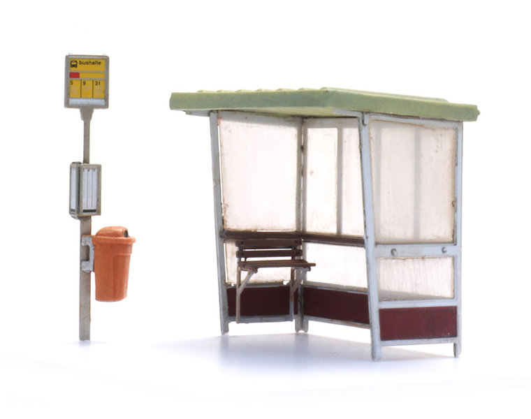 Bus stop 1970s and later