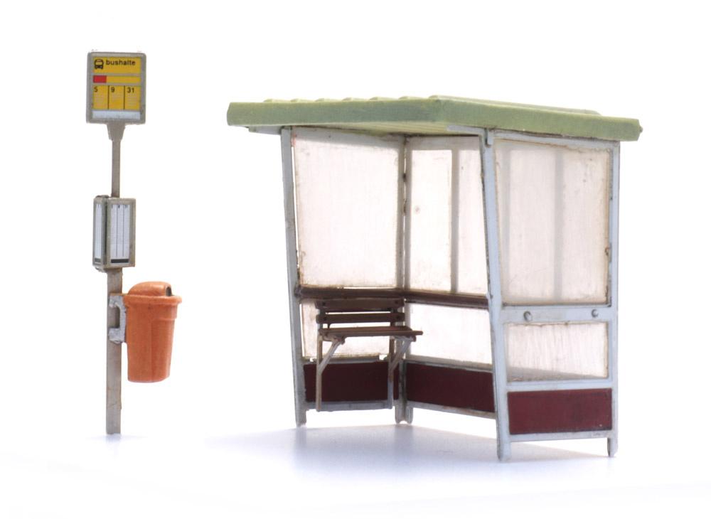 Bushaltestelle ab den 70er Jahren