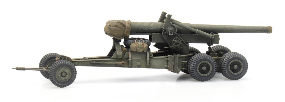 155 mm Gun M1 'Long Tom' transport mode