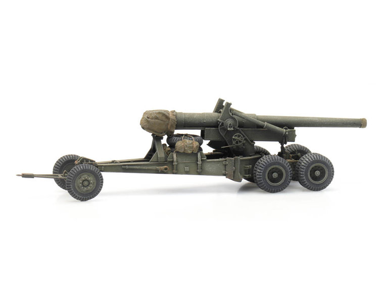 155 mm Gun M1 'Long Tom' transport mode