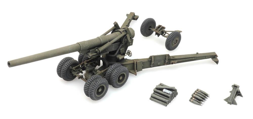 155 mm Gun M1 'Long Tom' firing mode