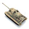 Tiger II Henschel, Tarnung, 1:87 Fertigmodell ausResin, lackiert