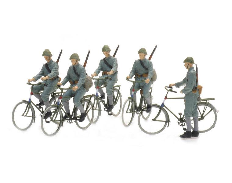 Fietsende soldaten 1940