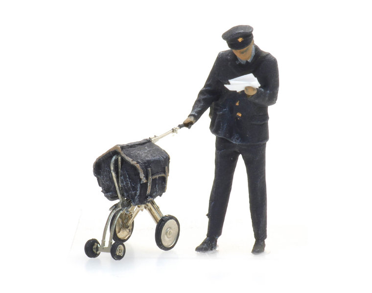 Postman and cart
