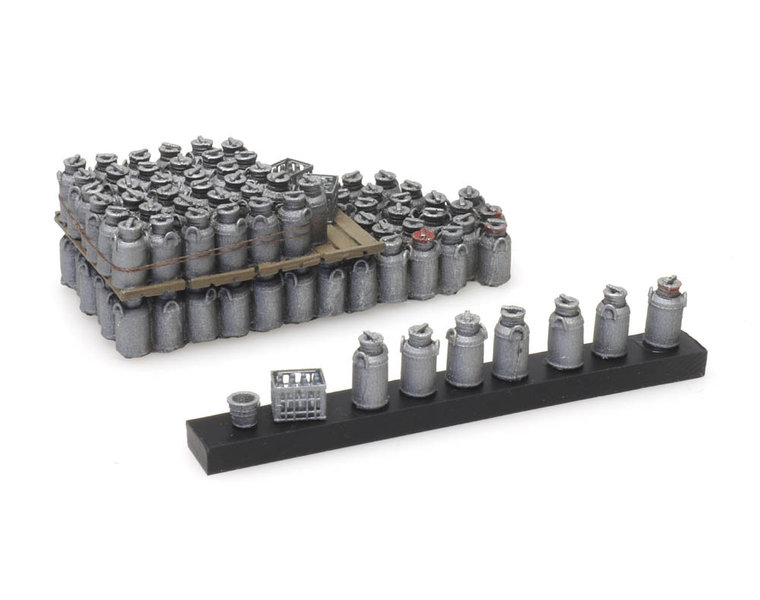 Cargo: milk churns (52mm x 22 mm)