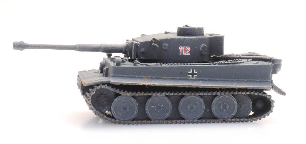 Tiger I grau Eisenbahntransport
